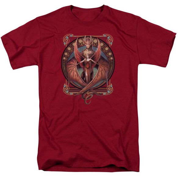 Anne Stokes Copperwing Nouveau Short Sleeve Adult T-Shirt