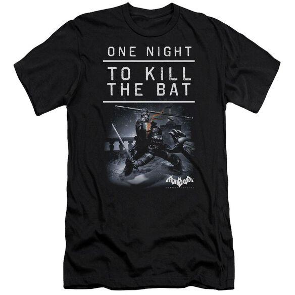 Batman Arkham Origins One Night Short Sleeve Adult T-Shirt