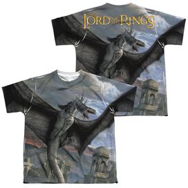 Lor Fellbeast (Front Back Print) Short Sleeve Youth Poly Crew T-Shirt