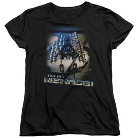 SG1 MENACE - S/S WOMENS TEE - BLACK T-Shirt