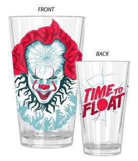 Pennywise Time To Float 16oz Pint Glass