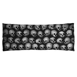 Skulls Microfiber Body Pillow