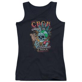 Cbgb City Mowhawk Juniors Tank Top
