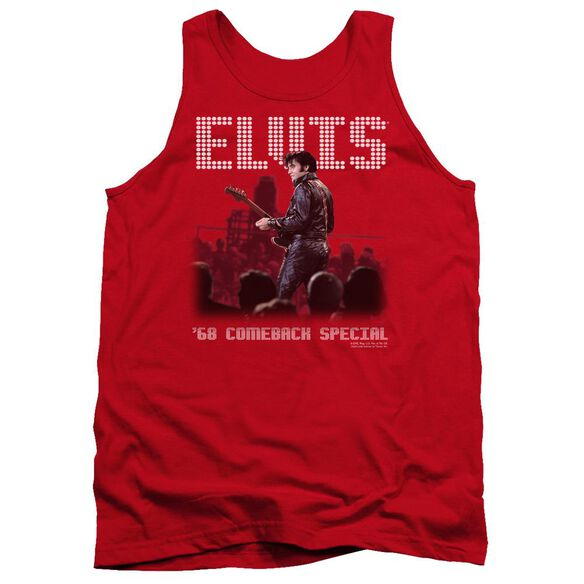 Elvis Return Of The King Adult Tank