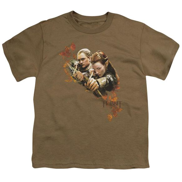 Hobbit Children Of Mirkwood Short Sleeve Youth Safari T-Shirt