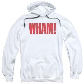 Wham Logo Adult Pull Over Hoodie