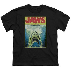 Jaws Bright Jaws Short Sleeve Youth T-Shirt