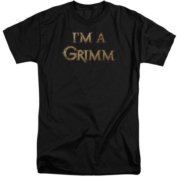 Grimm Im A Grimm Short Sleeve Adult Tall T-Shirt