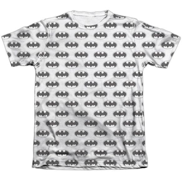 Batman Bats All Over Adult 65 35 Poly Cotton Short Sleeve Tee T-Shirt