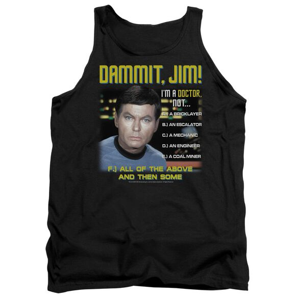 Star Trek All Of The Above Adult Tank