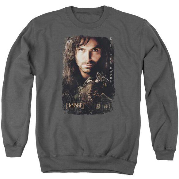 Hobbit Kili Poster Adult Crewneck Sweatshirt