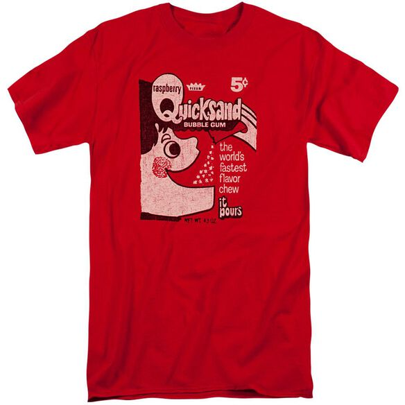 Dubble Bubble Quicksand Short Sleeve Adult Tall T-Shirt