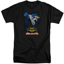 Batman Unlimited Descent Short Sleeve Adult Tall T-Shirt