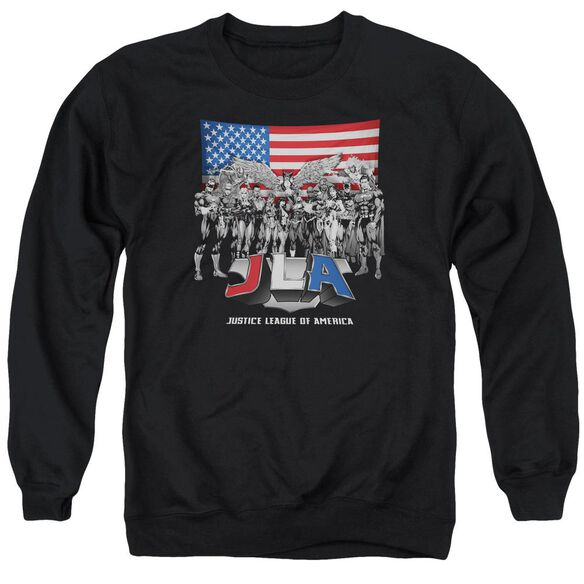Jla All American League Adult Crewneck Sweatshirt