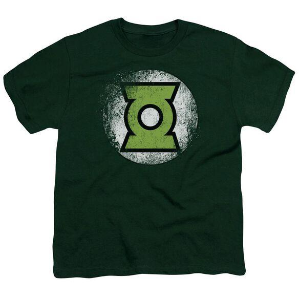 Jla Destroyed Gl Logo Short Sleeve Youth Hunter T-Shirt