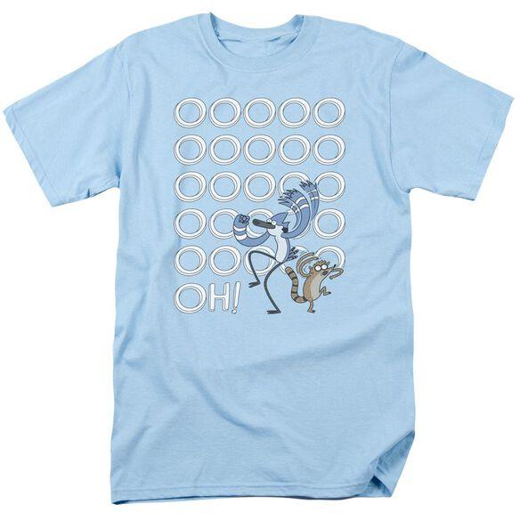 The Regular Show Oooooh Short Sleeve Adult Light T-Shirt