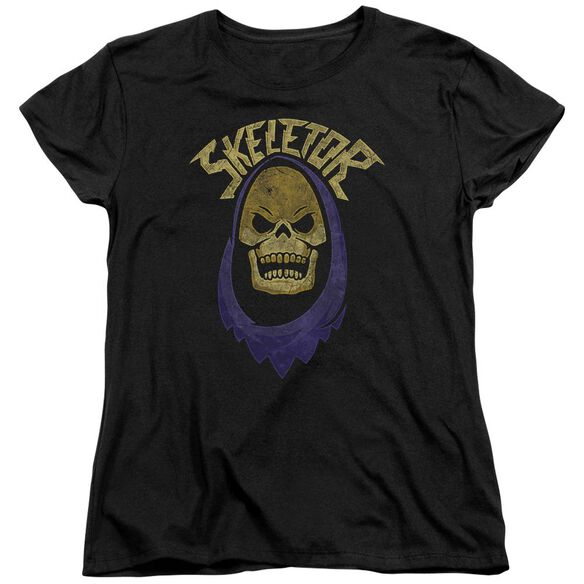 Masters Of The Universe Hood Short Sleeve Womens Tee T-Shirt