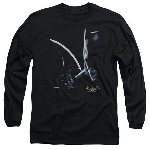 BATMAN AA ARKHAM BATMAN - L/S ADULT 18/1 - BLACK T-Shirt