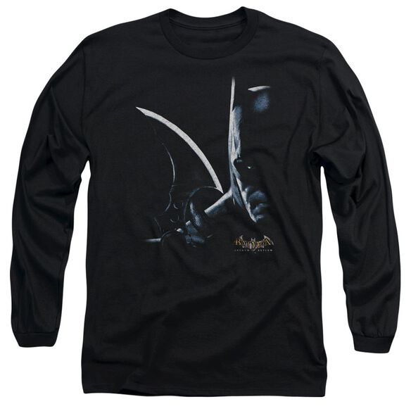 BATMAN AA ARKHAM BATMAN- L/S ADULT T-Shirt