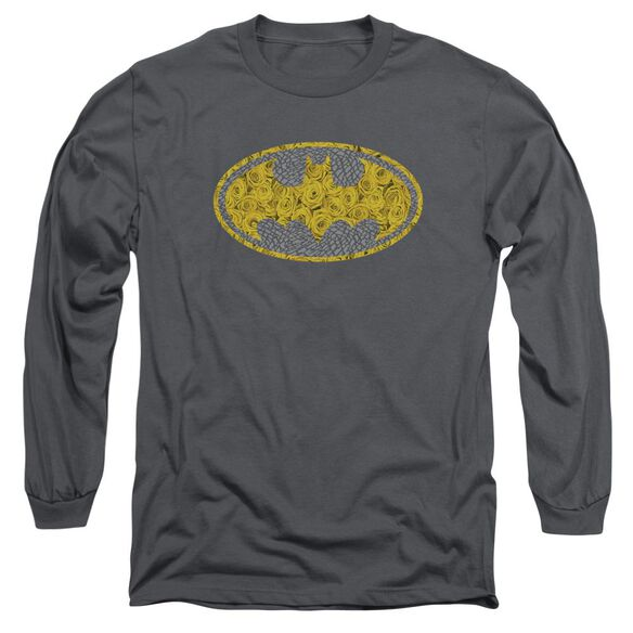 Batman Elephant Rose Signal Long Sleeve Adult T-Shirt
