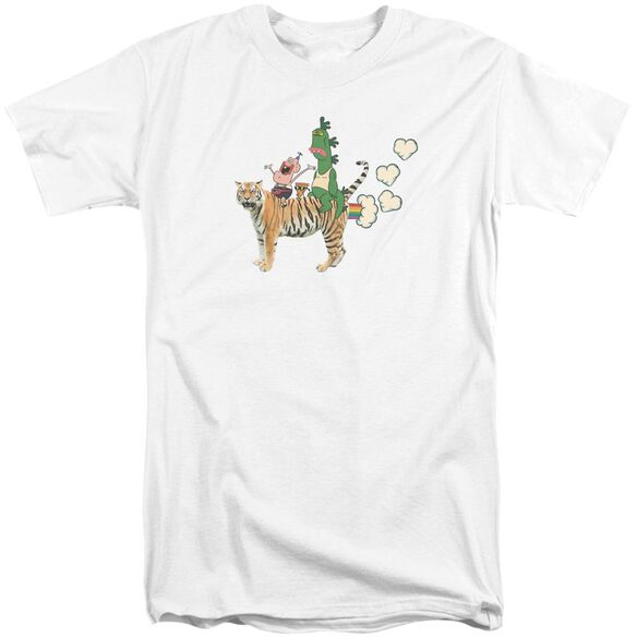 Uncle Grandpa Fart Hearts Short Sleeve Adult Tall T-Shirt