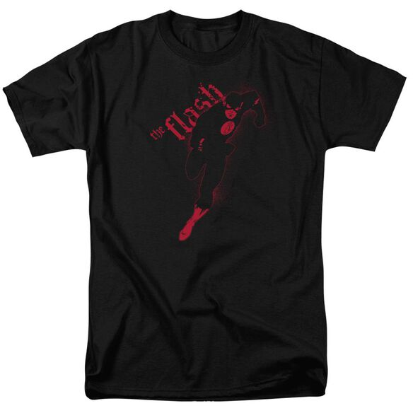 Jla Flash Darkness Short Sleeve Adult T-Shirt