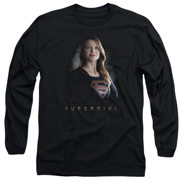 Supergirl Stand Tall Long Sleeve Adult T-Shirt