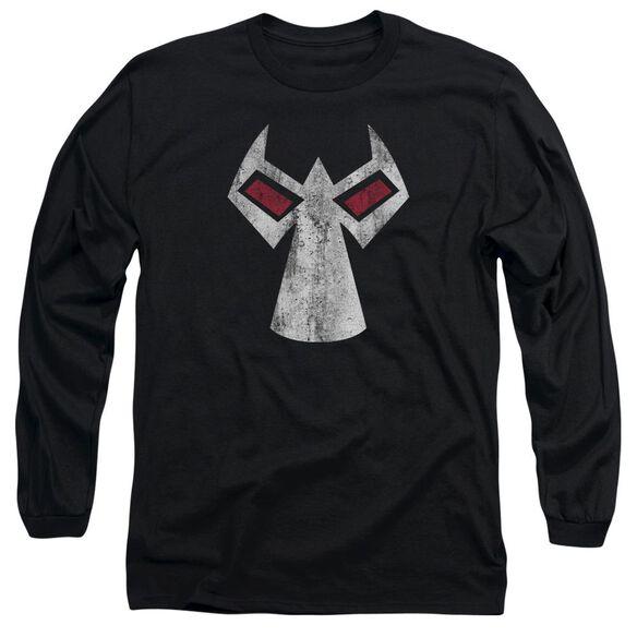 Batman Bane Mask Long Sleeve Adult T-Shirt