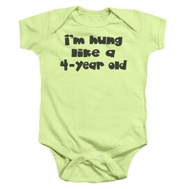 Hung Infant Snapsuit Soft Green Md