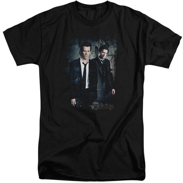 Following Good Vs Evil Short Sleeve Adult Tall T-Shirt