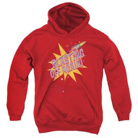 Astro Pop Blast Off Youth Pull Over Hoodie
