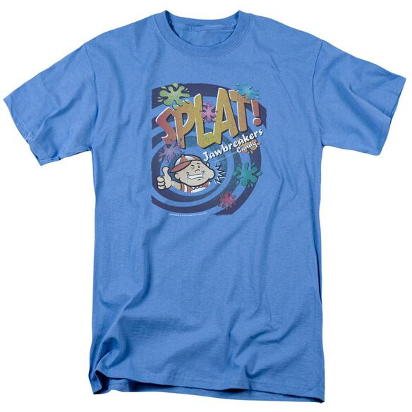 Dubble Bubble Splat Jawbreakers Short Sleeve Adult Carolina Blue T-Shirt
