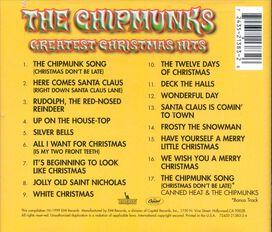 Alvin & the Chipmunks - Chipmunks Greatest Christmas Hits
