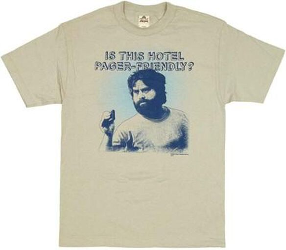Hangover Pager Friendly T-Shirt