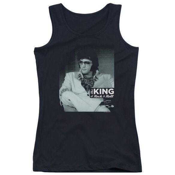 Elvis Presley Good To Be Juniors Tank Top