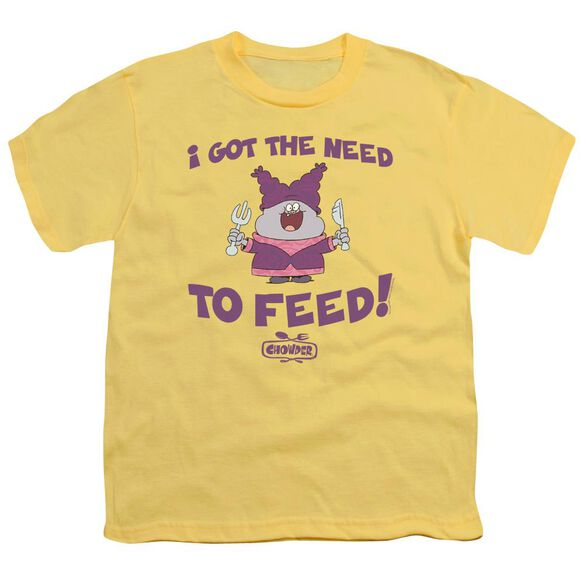 Chowder The Need Short Sleeve Youth T-Shirt
