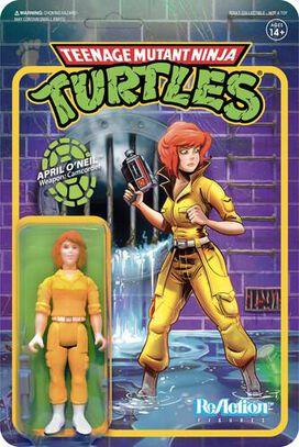 Teenage Mutant Ninja Turtles April O'Neil ReAction Figure