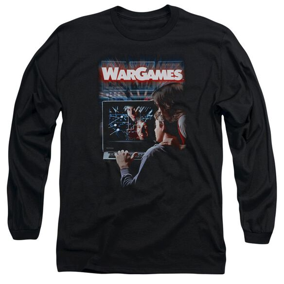Wargames Poster Long Sleeve Adult T-Shirt