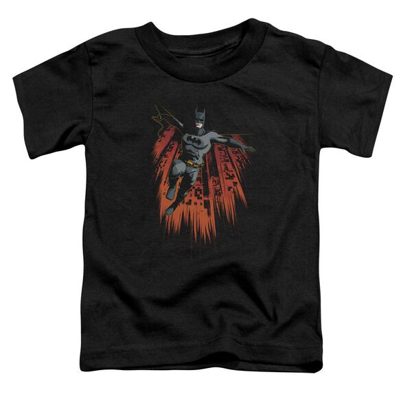 Batman Majestic Short Sleeve Toddler Tee Black Md T-Shirt