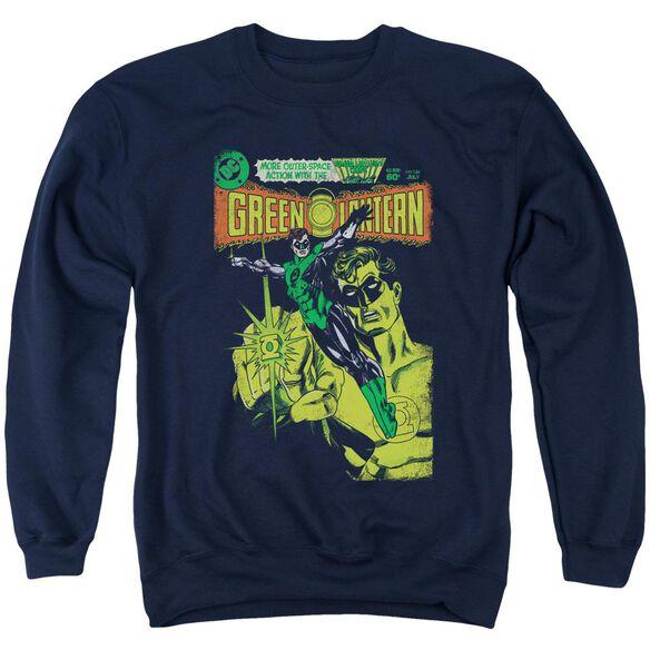 Green Lantern Vintage Cover Adult Crewneck Sweatshirt