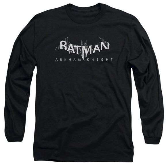 Batman Arkham Knight Ak Splinter Logo Long Sleeve Adult T-Shirt