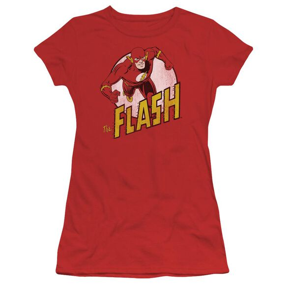 DC FLASH THE FLASH - S/S JUNIOR SHEER - RED T-Shirt
