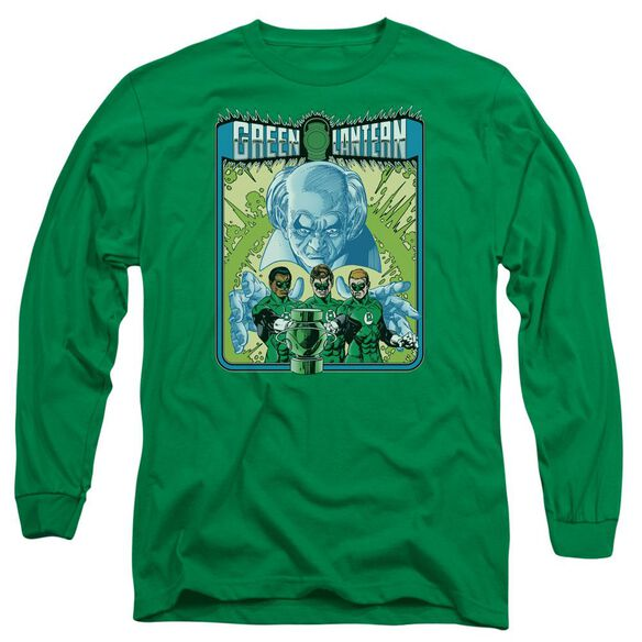 Lantern Gl #184 Cover Long Sleeve Adult Kelly T-Shirt