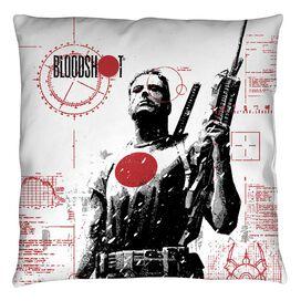 Bloodshot Take Aim Throw Pillow
