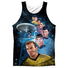 Star Trek Among The Stars Adult 100% Poly Tank Top