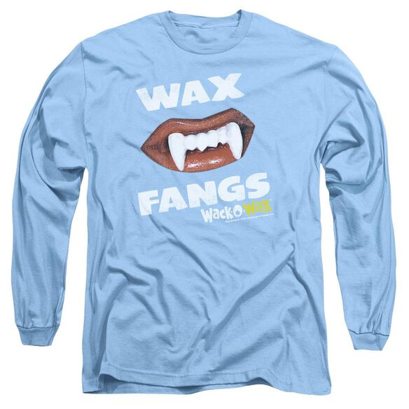 Dubble Bubble Wax Fangs Long Sleeve Adult Carolina T-Shirt