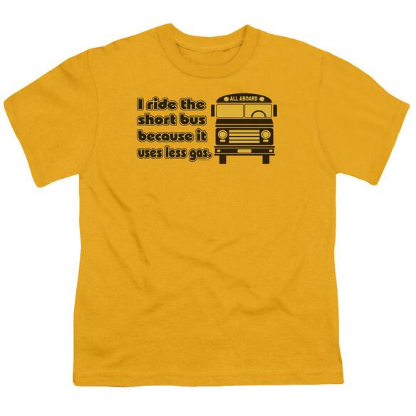 Short Bus Short Sleeve Youth T-Shirt