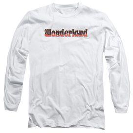 Zenoscope Wonderland Logo Long Sleeve Adult T-Shirt