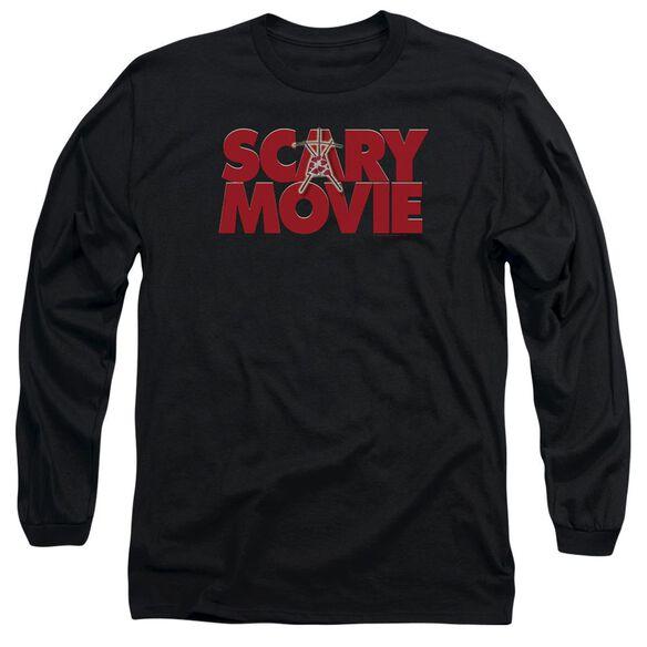 Scary Movie Logo Long Sleeve Adult T-Shirt