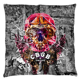 Cbgb Flying Skull Throw